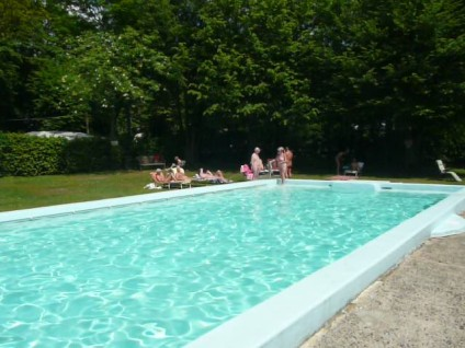 swimming pool at Fiveacres