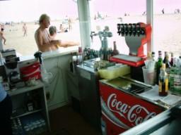 Beach bar at Maspalomas beach