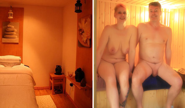 Naturist Massage room