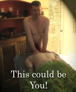 Nudist massage treatment