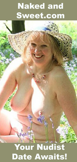 image nudist in field