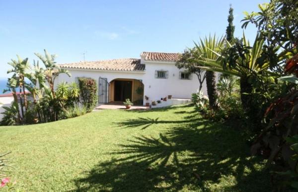 Villa Magica garden view