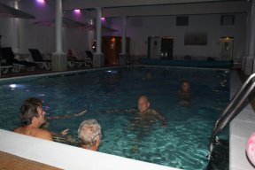 Nudist swim at The Penventon Hotel, Redruth