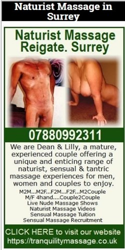 Naturist Massage Reigate
