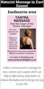Naturist Massage Eastbourne