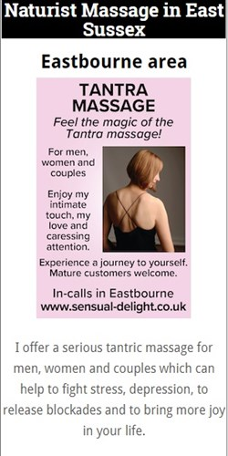 Naturist Massage Eastbourne